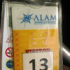 Photo taken at Akademi Laut Malaysia (ALAM) by Mat J. on 5/20/2015