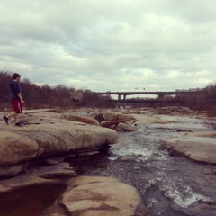 Photo taken at Rocks On The James by Tyler W. on 3/12/2014