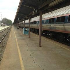 Photo taken at Richmond Amtrak Station (RVR) by John W. on 1/2/2013
