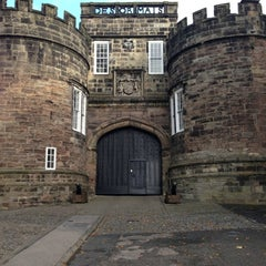 Photo taken at Skipton Castle by Ady C. on 10/13/2012
