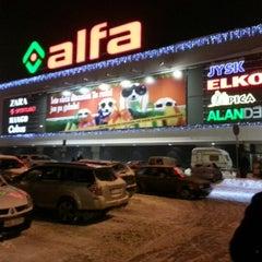 Photo taken at Alfa by Edijs S. on 12/19/2012
