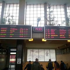Photo taken at Pardubice hlavní nádraží by Jenda Š. on 12/23/2012