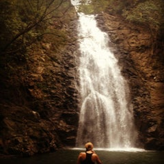 Photo taken at Montezuma Waterfall by Judit V. on 11/23/2012
