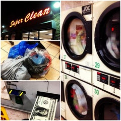 Photo taken at Super Clean Wash Center by B G. on 9/14/2012