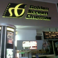 Photo taken at Golden Screen Cinemas (GSC) by BaEm I. on 10/4/2012