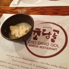 Photo taken at Cho Dang Gol by Fanny L. on 3/1/2013