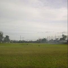 Photo taken at Udayana Golf Driving Range by Prito P. on 3/11/2014