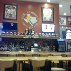 Photo taken at Earl Campbell Sports Bar by Kelly B. on 10/4/2012