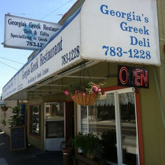 Photo taken at Georgia's Greek Restaurant & Deli by ⚡️Stephano T. on 7/21/2013
