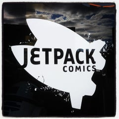 Photo taken at Jetpack Comics by Barry F. on 2/22/2014