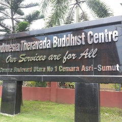 Photo taken at Indonesia Theravada Buddhist Centre (ITBC) by Yana H. on 9/22/2013