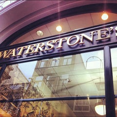 Photo taken at Waterstones by Kelly B. on 11/23/2012