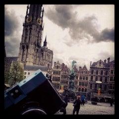 Photo taken at Lomography Gallery Store Antwerp by Y Van Muylder on 4/27/2013
