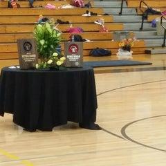 Photo taken at Burlington High School by Sam L. on 2/27/2014