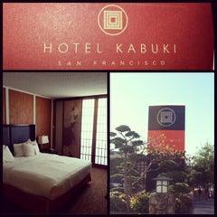 Photo taken at Hotel Kabuki by DJ TILT on 12/7/2012