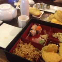 Photo taken at Sakura Japanese Restaurant by Melanie R. on 7/29/2013