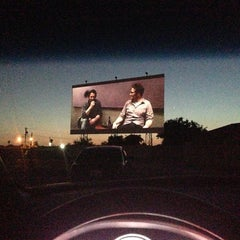 Photo taken at Mission Tiki Drive-In Theatre by GbocaJ on 6/18/2013