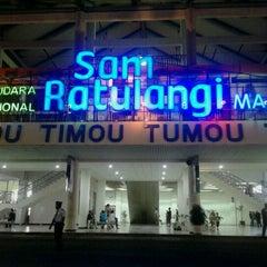 Photo taken at Sam Ratulangi International Airport (MDC) by Fernando Y. on 6/15/2013