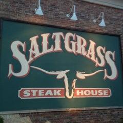 Photo taken at Saltgrass Steak House by Masanari T. on 5/6/2013