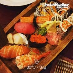Photo taken at Silla (Korean Japanese Chinese Restaurant) by Eshape B. on 7/25/2015