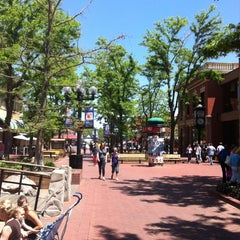 Photo taken at Pearl Street Mall by Аспенкуче I. on 6/6/2013