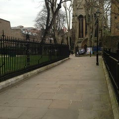 Photo taken at St Mary Abbots Gardens by Fiona W. on 3/6/2013