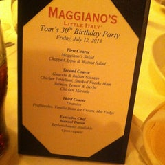 Photo taken at Maggiano's Little Italy by Gina T. on 7/13/2013