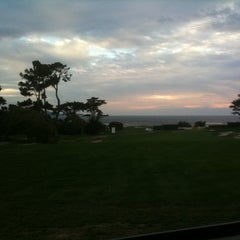 Photo taken at Pebble Beach Golf Links by Dave A. on 11/16/2012