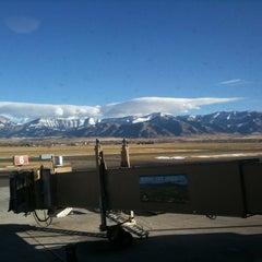 Photo taken at Bozeman Yellowstone International Airport (BZN) by Dave A. on 11/29/2012