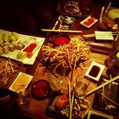 Photo taken at Ronin Sushi Bar by Janey G. on 10/19/2012