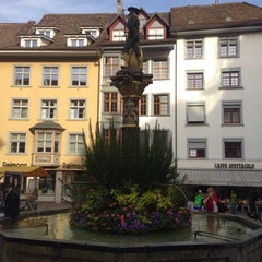 Photo taken at Fronwagplatz by Oliver T. on 9/21/2013