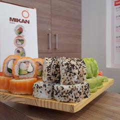 Photo taken at Mikan Sushi by Mikan Sushi on 10/16/2015