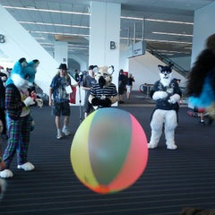 Photo taken at Anthrocon by Morton F. on 7/4/2013