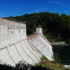 Photo taken at Loch Raven Dam by Morton F. on 10/10/2015