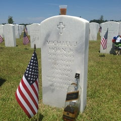 Photo taken at Jacksonville National Cemetery by Mikey H. on 5/27/2013