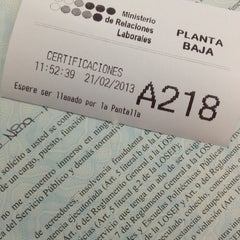 Photo taken at Ministerio de Relaciones Laborales by Gaby A. on 2/21/2013