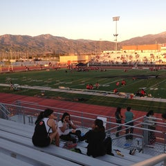 Photo taken at Citrus Valley High School by Aardvarq on 3/1/2013