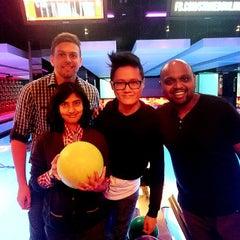 Photo taken at Strike Bowling Bar by Paul O. on 4/26/2015