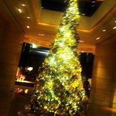 Photo taken at The Portman Ritz-Carlton, Shanghai by William W. on 12/13/2012