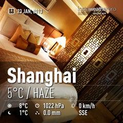 Photo taken at The Portman Ritz-Carlton, Shanghai by William W. on 1/23/2013