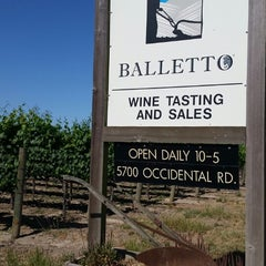 Photo taken at Balletto Vineyards & Winery by Shannon L. on 5/29/2014