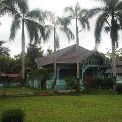 Photo taken at Keraton Amantubillah Mempawah by Tulus on 4/7/2014
