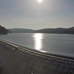 Photo taken at Croton Falls Dam by Jonathan G. on 7/6/2013