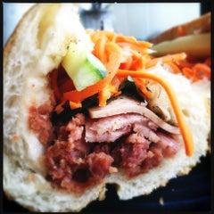 Photo taken at Saigon Vietnamese Sandwich Deli by Lynn H. on 9/20/2012