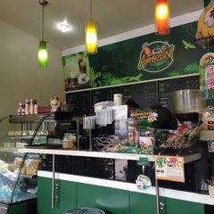 Photo taken at Café Amazon by Thoranin T. on 12/16/2014