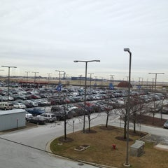 Photo taken at O'Hare - Economy Parking Lot E by John R D. on 1/18/2013