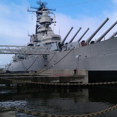 Photo taken at USS Wisconsin (BB-64) by Jim M. on 2/24/2013