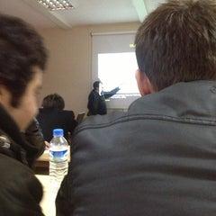 Photo taken at ÇOMÜ MMF Kantin by İrfan P. on 12/17/2012