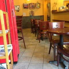 Photo taken at Infuzion Cafe by Jamez on 10/16/2012