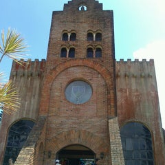 Photo taken at Caleruega Church by Anjil C. on 3/18/2013